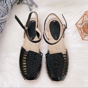 SOLUDOS Huarache Platform Sandal